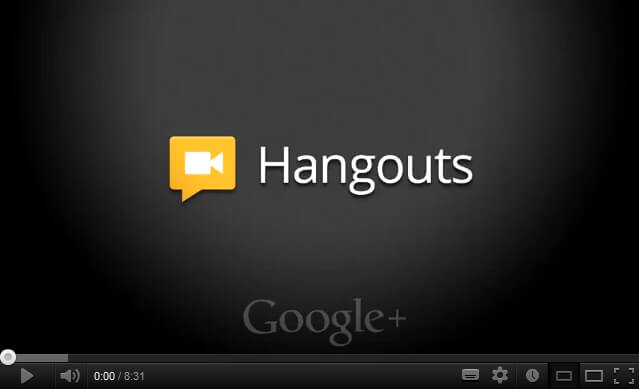 tutoriel google hangout pour vos conf rences en ligne. Black Bedroom Furniture Sets. Home Design Ideas