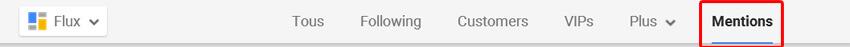 Les mentions sur Google Plus