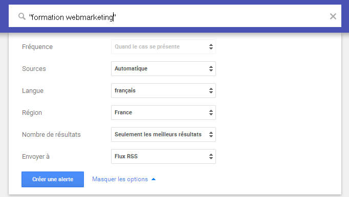 options-google-alerte