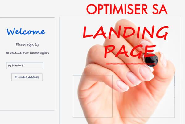 Créer une page d'atterrissage efficace pour vos annonces