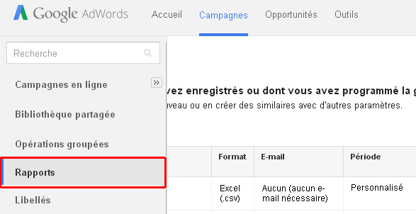 rapports-google-adwords