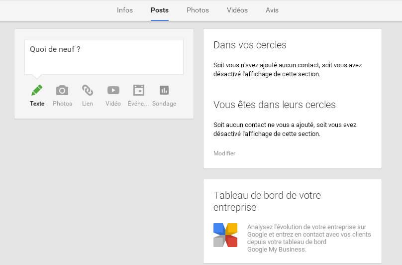 Comment créer un post sur Google Plus