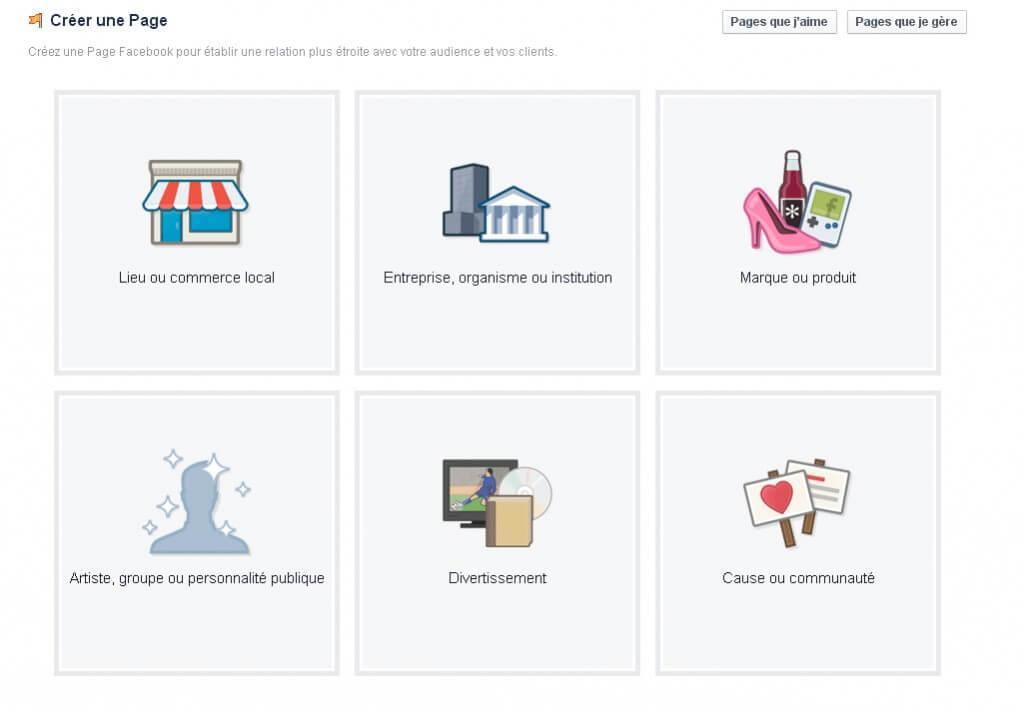 Comment créer une fanpage sur Facebook