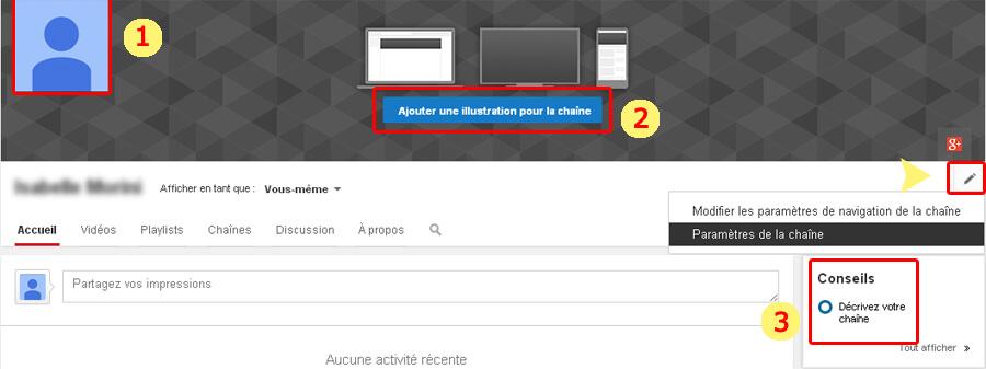 parametrer-chaine-youtube