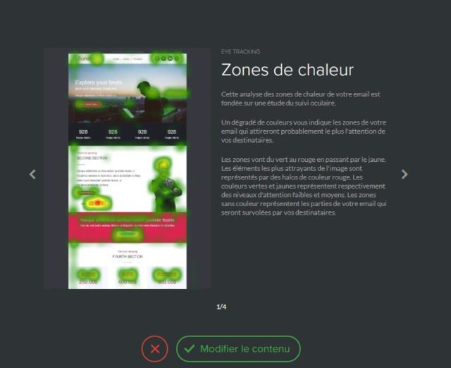 zones de chaleur - intelligence artificielle